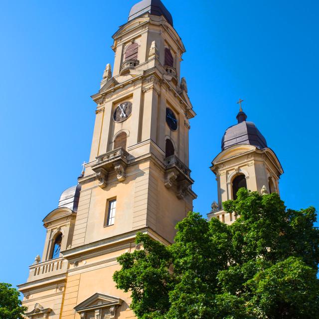 """Roman Church in Oradea"" stock image"