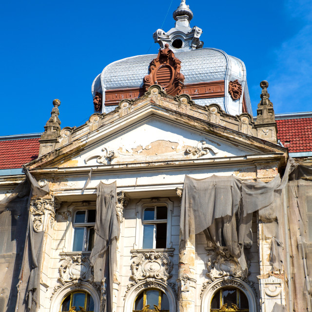 """""""Historic Architecture in Oradea"""" stock image"""