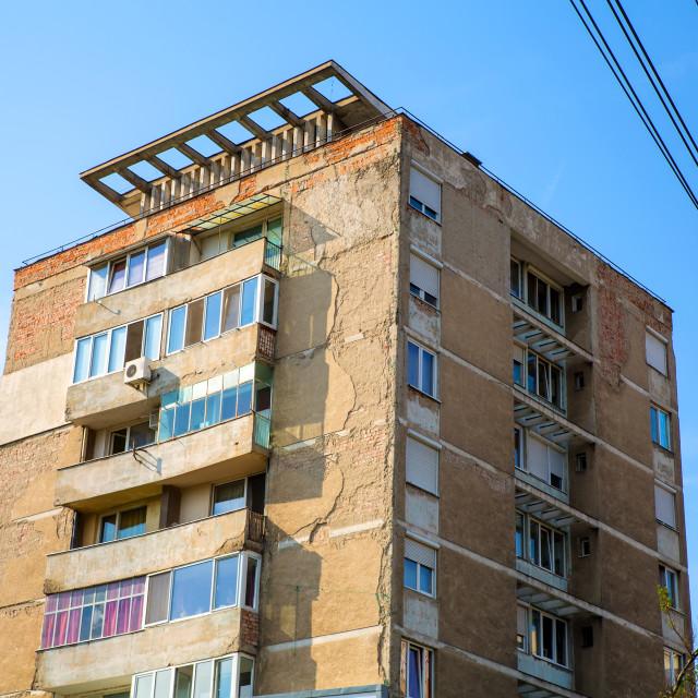 """Building in Oradea"" stock image"