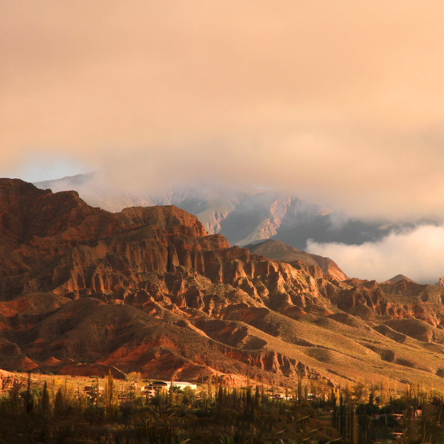 """Landscape in Salta"" stock image"