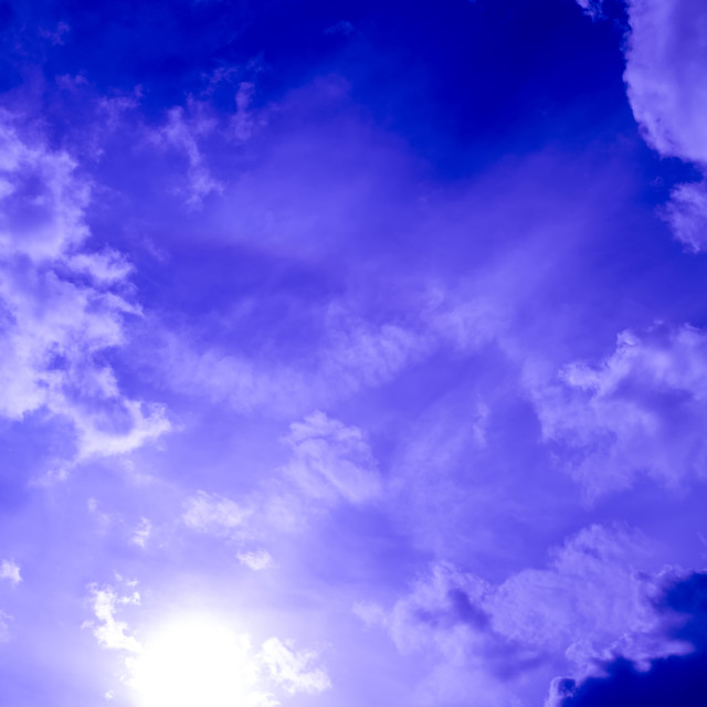 """Purple Sky"" stock image"