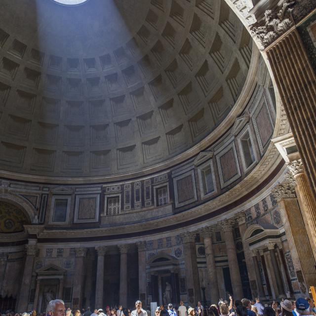"""Pantheon,Roma, Lazio, Italy"" stock image"