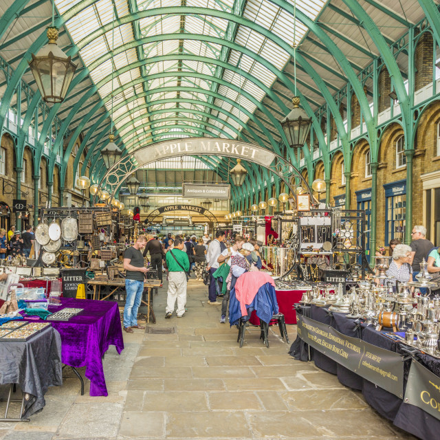 """""""A view of Covent Garden Market in Covent Garden, London, England, United..."""" stock image"""