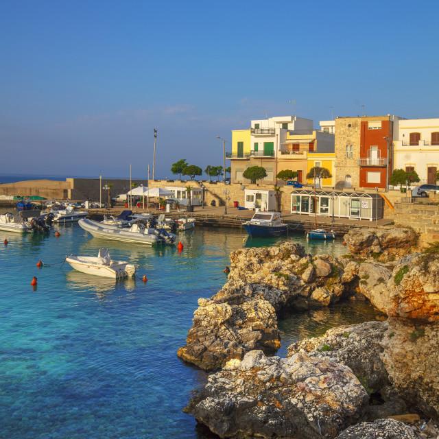 """Santa Caterina, Puglia, Italy"" stock image"