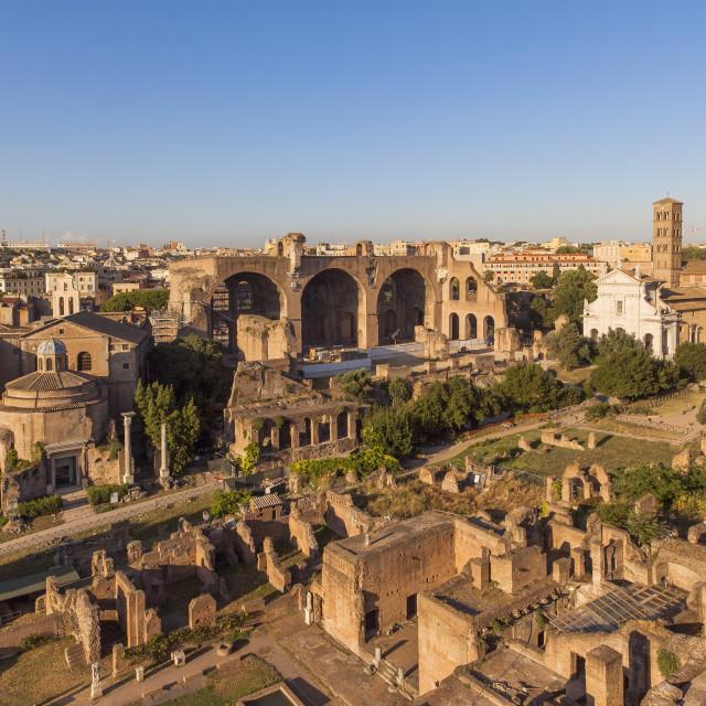 """""""Fori Imperiali,Roma, Lazio, Italy"""" stock image"""