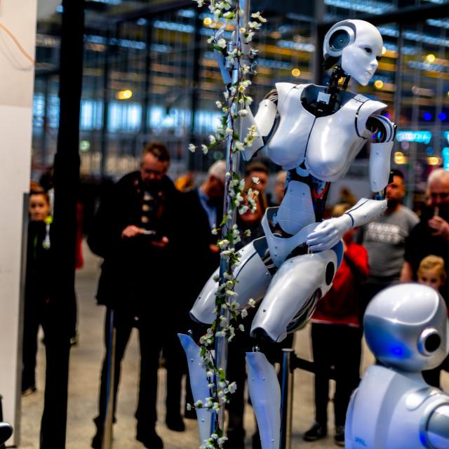 """Robotics"" stock image"