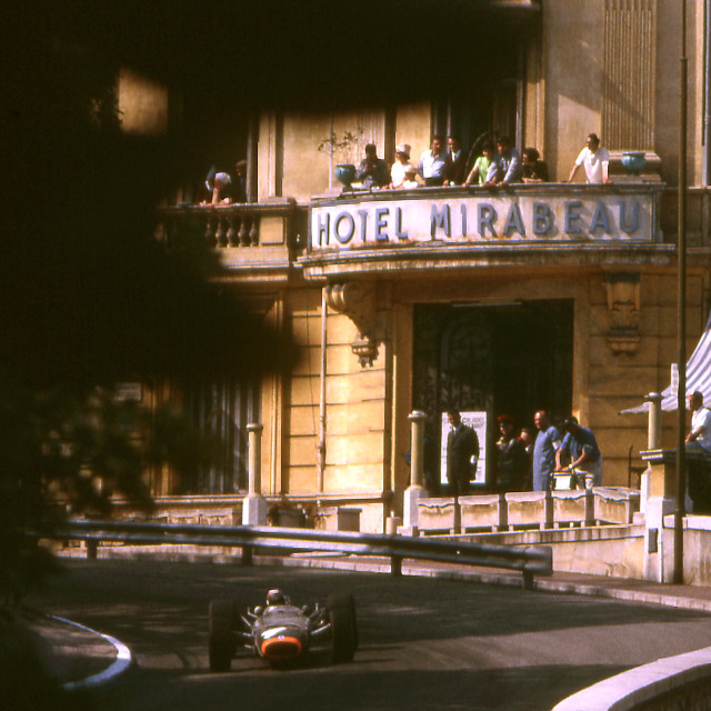 """""""Out of the Shadows Monaco 1967"""" stock image"""