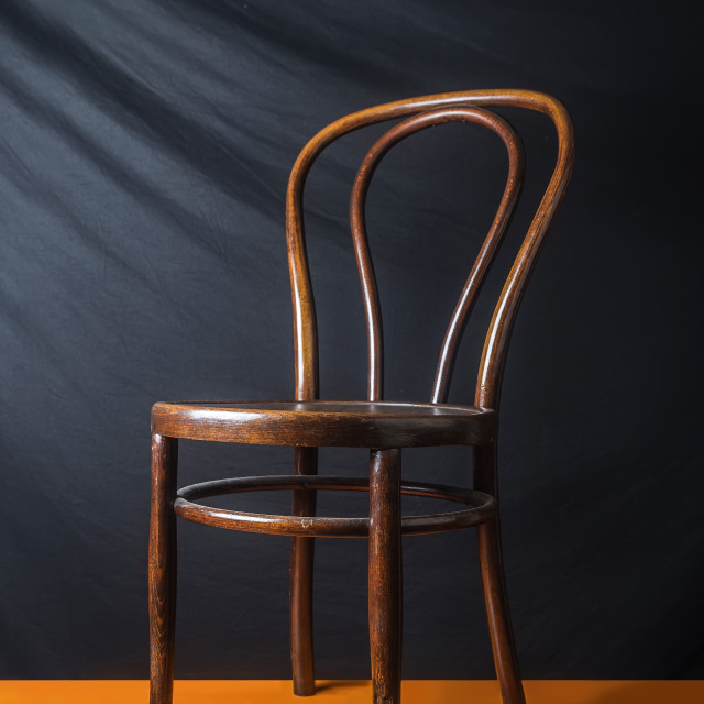 """""""Wooden vintage chair"""" stock image"""