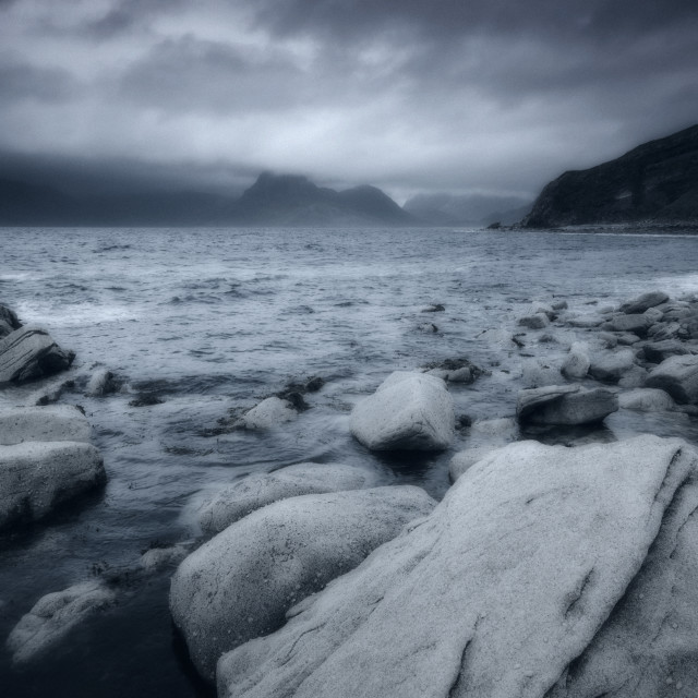"""Elgol View"" stock image"