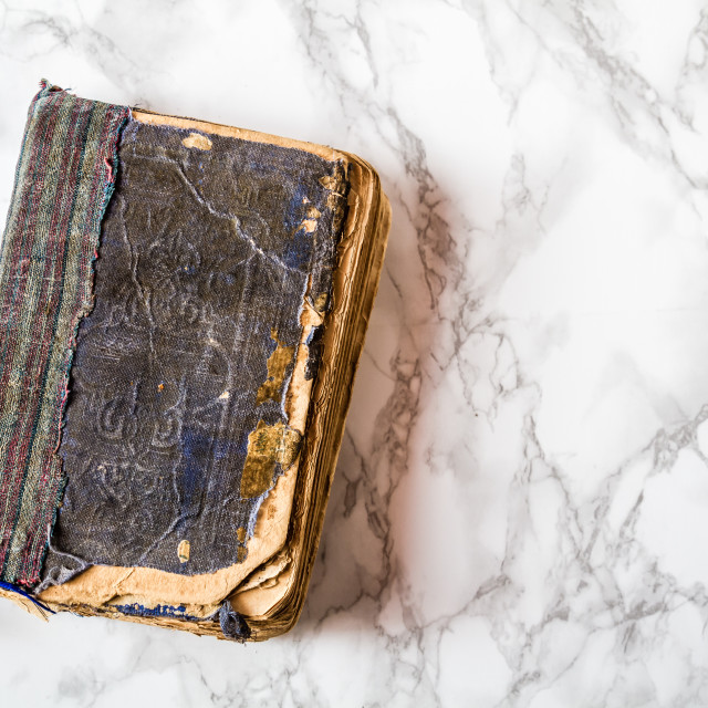 """Antique Weathered Old Book"" stock image"