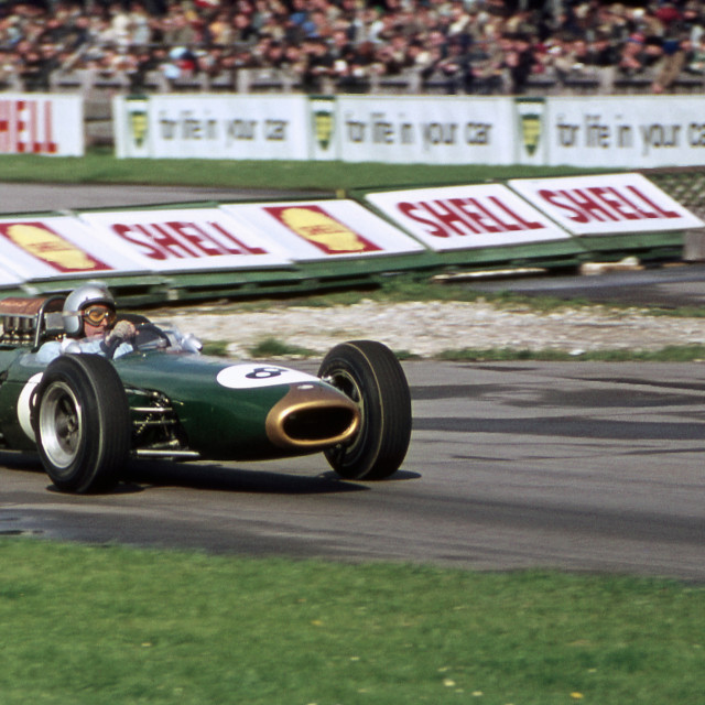 """Jack Brabham Goodwood 1967"" stock image"