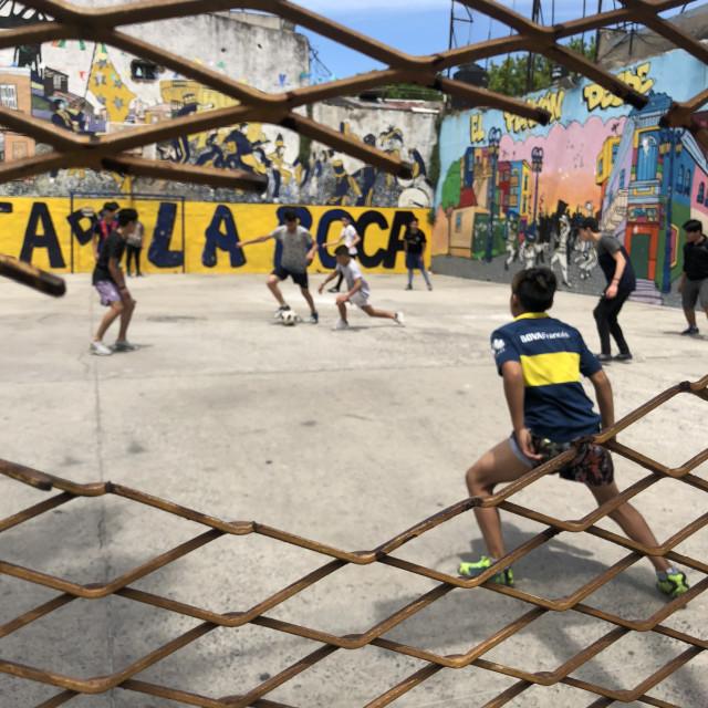 """""""Boca Juniors"""" stock image"""