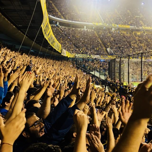"""La Bombonera, Boca Juniors."" stock image"