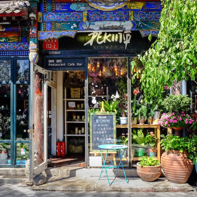 """""""Peking Cafe"""" stock image"""