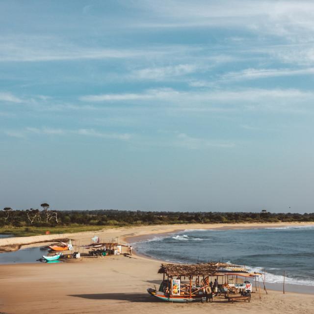 """Surfspot in Sri Lanka"" stock image"