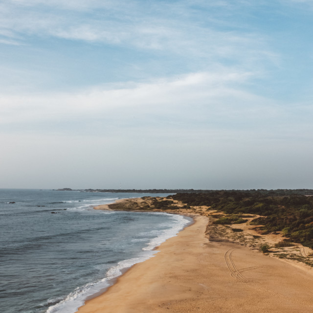 """Long beaches"" stock image"