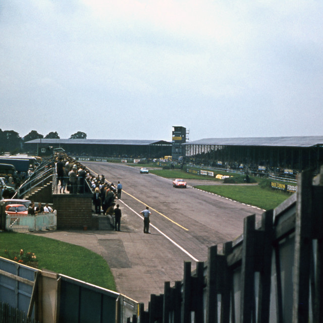 """""""Silverstone in 1963"""" stock image"""