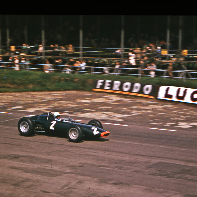 """""""Richie Ginther BRM Silverstone 1963"""" stock image"""