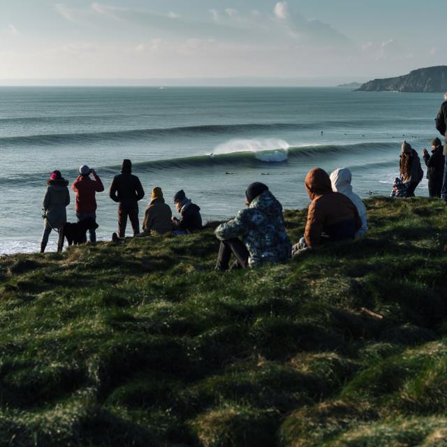 """Cornish Corners"" stock image"