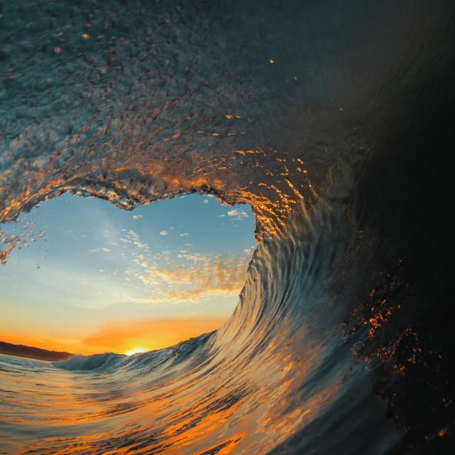"""Dawn Wave"" stock image"
