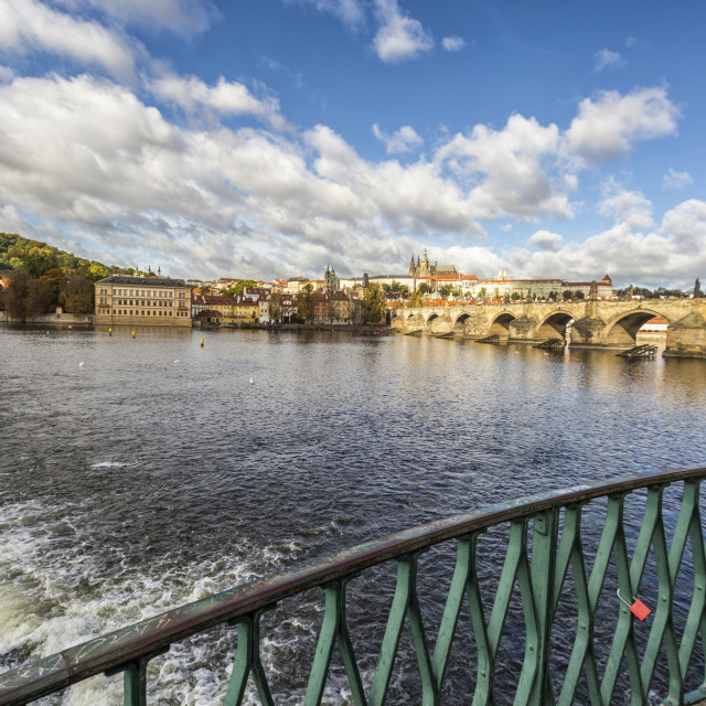 """Beautiful cityscape in Prague"" stock image"