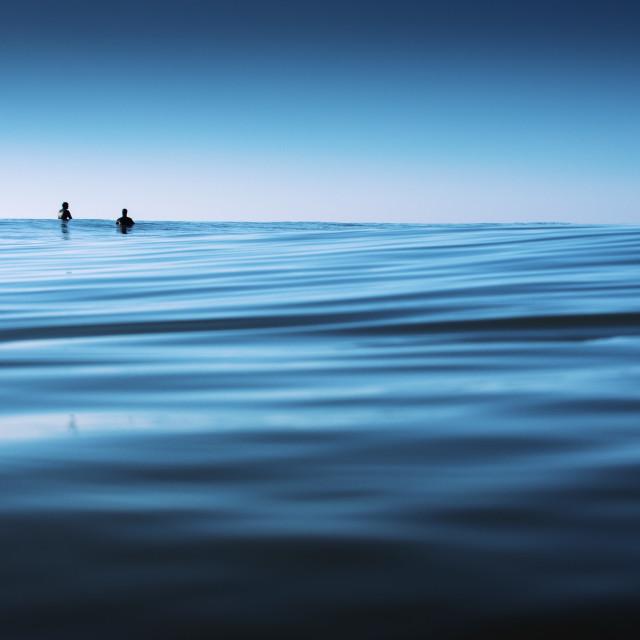 """""""Still Surfers"""" stock image"""