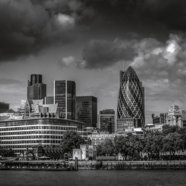 """""""Gherkin London"""" stock image"""