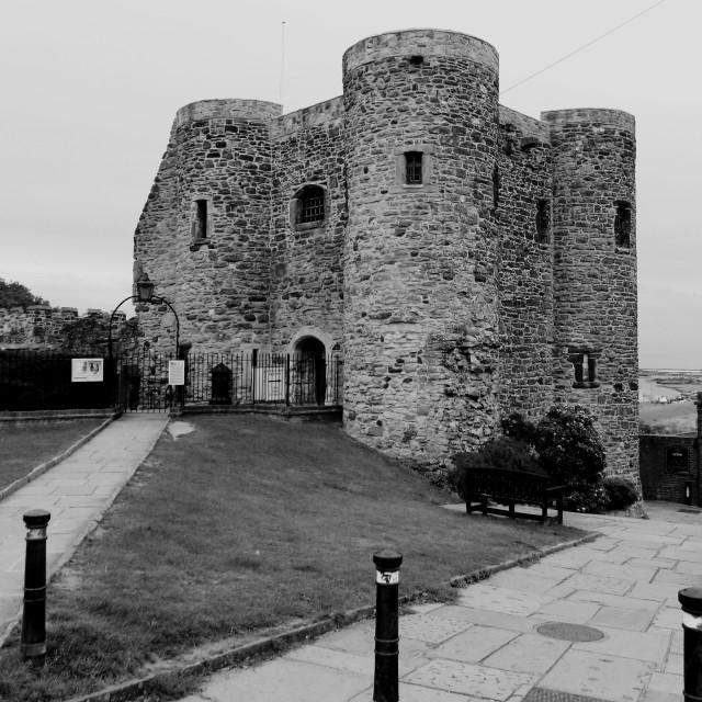 """Ypres Castle Rye"" stock image"