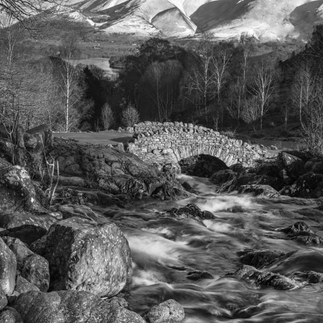 """Ashness Bridge"" stock image"
