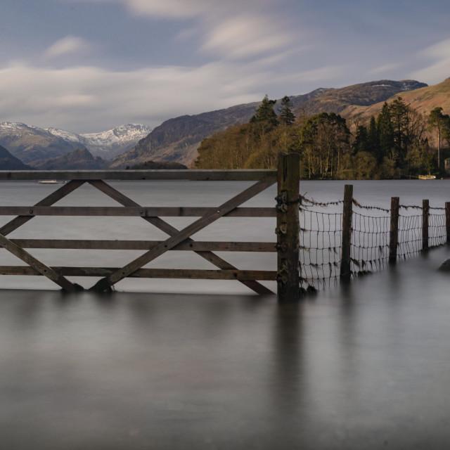 """Keswick Gate"" stock image"