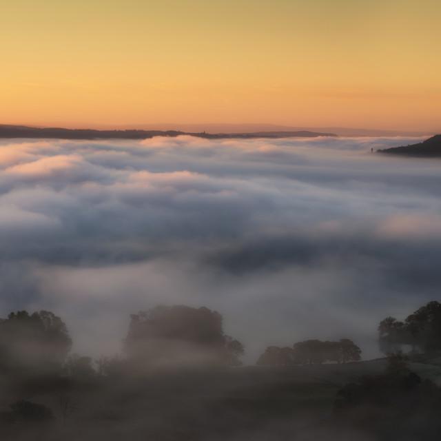"""Cloud inversion"" stock image"