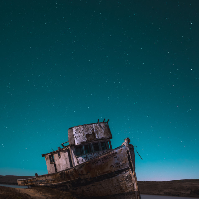 """Ghost ship"" stock image"