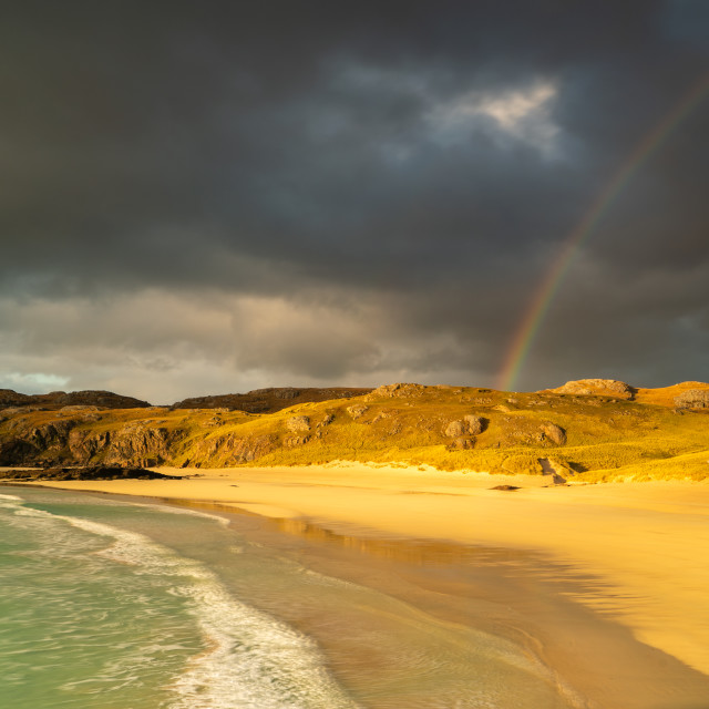 """Rainbow beach"" stock image"