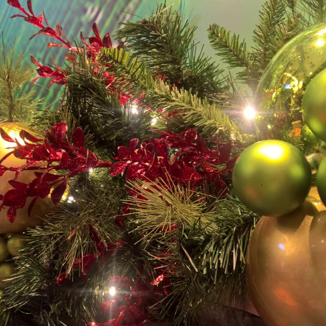 """""""Christmas Time"""" stock image"""
