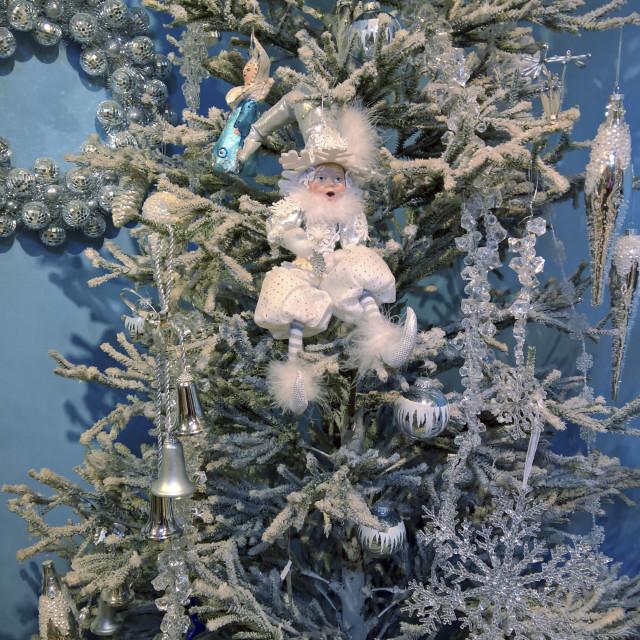 """Christmas Tree Ornaments"" stock image"