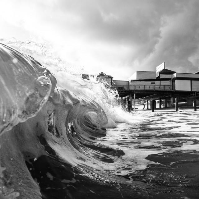 """""""Teignmouth Pier"""" stock image"""