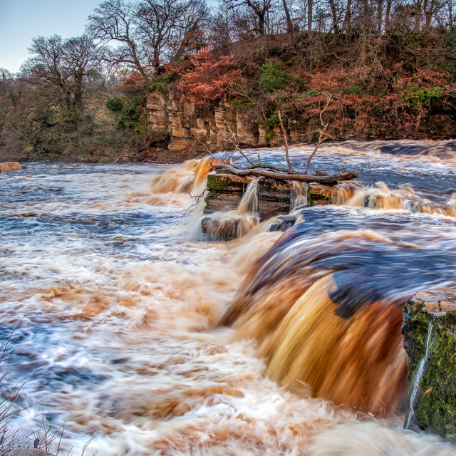 """River Swale"" stock image"