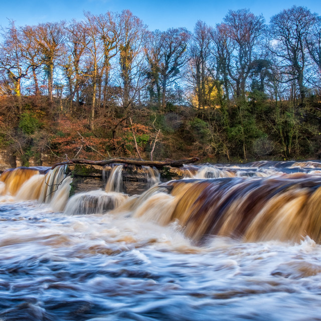 """River Swale 2"" stock image"