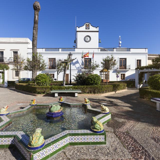 """Casa Consistorial in Tarifa"" stock image"