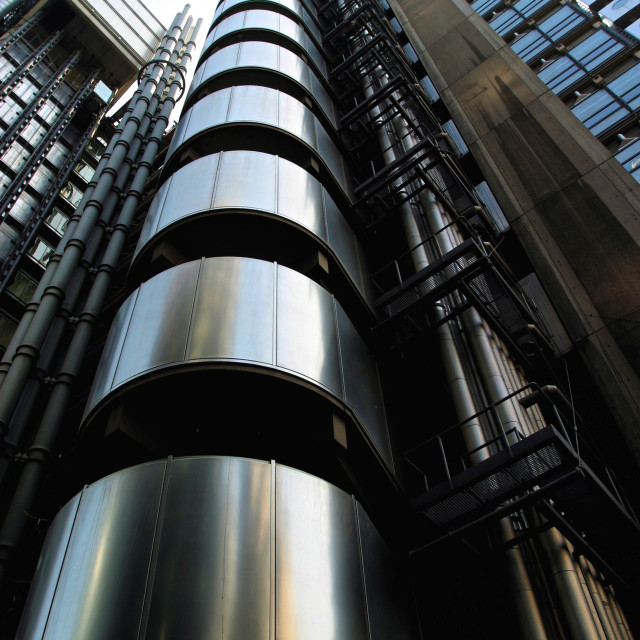 """Lloyds of London"" stock image"