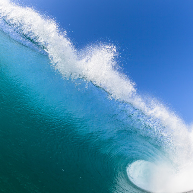 """Ocean Wave Water Photo Closeup"" stock image"