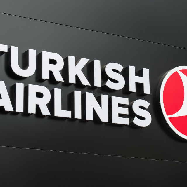 """Turkish Airlines"" stock image"