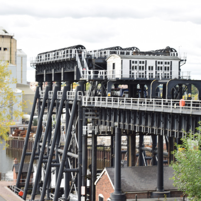 """anderton boat lift Northwich, cheshire"" stock image"