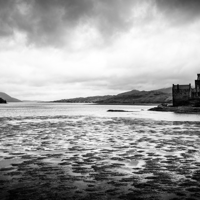 """""""Castle on the Shore"""" stock image"""