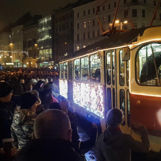 """Brno Christmas market"" stock image"
