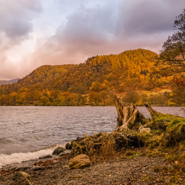 """ULLSWATER IN AUTUMN"" stock image"