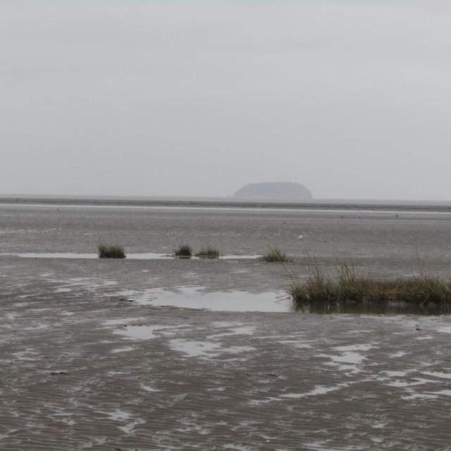 """Steepholm Island"" stock image"