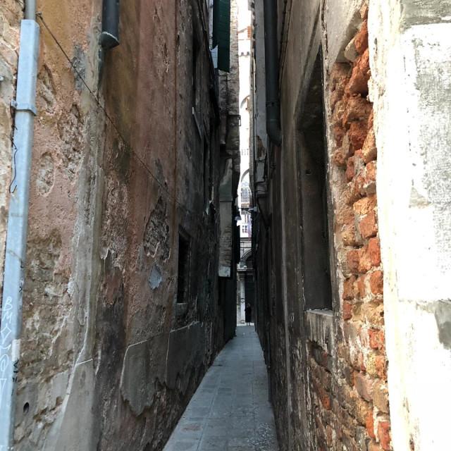 """Venice street"" stock image"