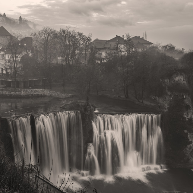 """Pliva Waterfall"" stock image"