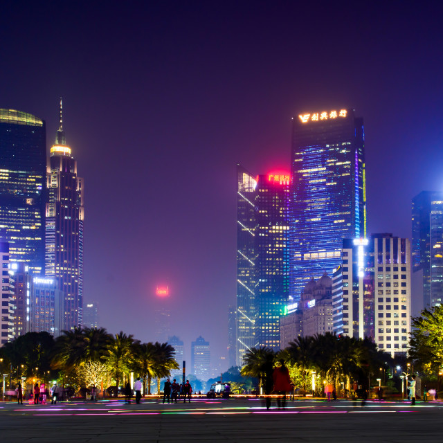 """""""Modern cityscape of Guangzhou China"""" stock image"""